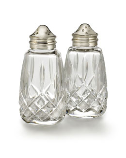Waterford Crystal Lismore Salt & Pepper Shakers
