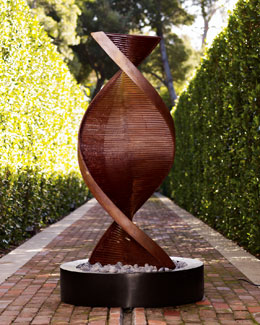 The Phillips Collection Twisted Copper Fountain
