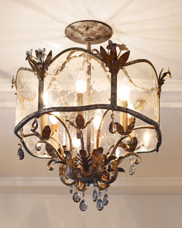 Jaquie Semi-Flush Light Fixture