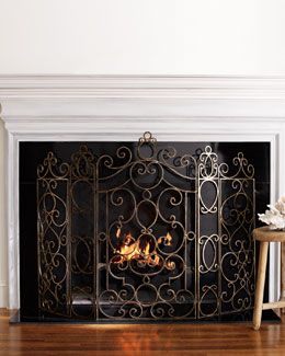 """Paris"" Fireplace Screen"