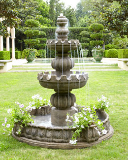 "Three-Tier ""Castle"" Fountain"
