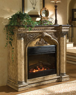 "Ambella ""Arch"" Electric Fireplace"