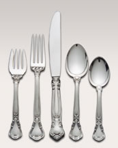 Neimanmarcus 46-Piece Gorham Chantilly Sterling Silver Flatware