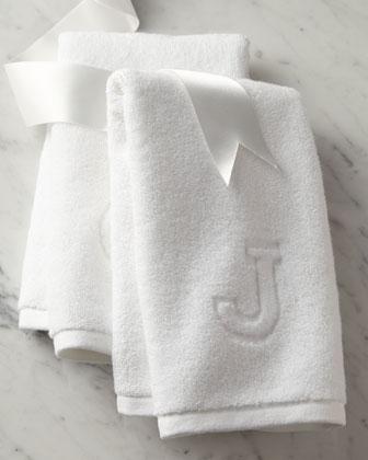 Auberge Monogrammed Bath Towels