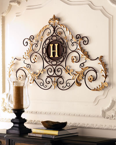 """Monogrammed """"Palace"""" Grill"""