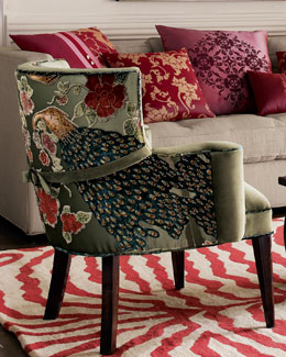 NM EXCLUSIVE Peacock Chair