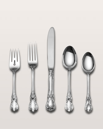 Towle Silversmiths 5-Piece Old Master Sterling Silver Flatware Place Setting