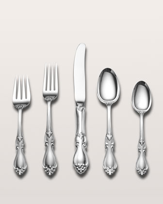 5-Piece Queen Elizabeth I Sterling Silver Place Setting