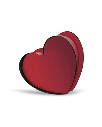 Small Zinzin Heart, Red