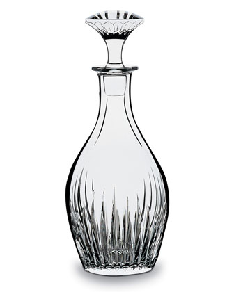 Massena Whiskey Decanter, 30 Ounces