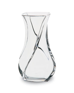 Baccarat Serpentin Vase, Medium