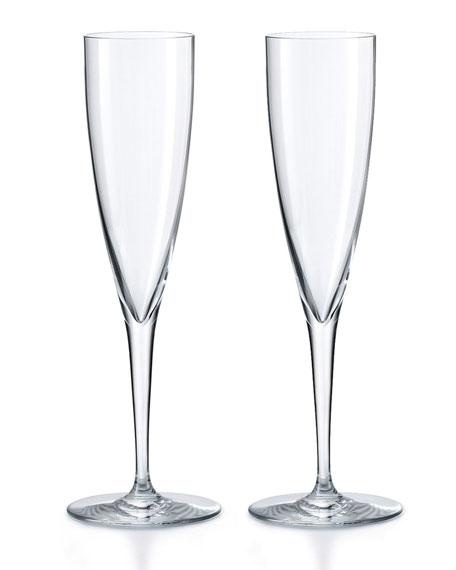 Dom Perignon Champagne Flutes, Set of Two