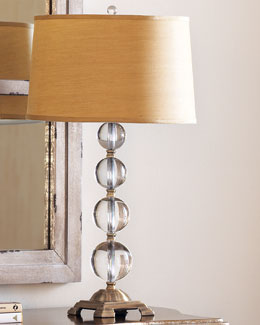 TRANSGLOBE LIGHTING Crystal Ball Table Lamp