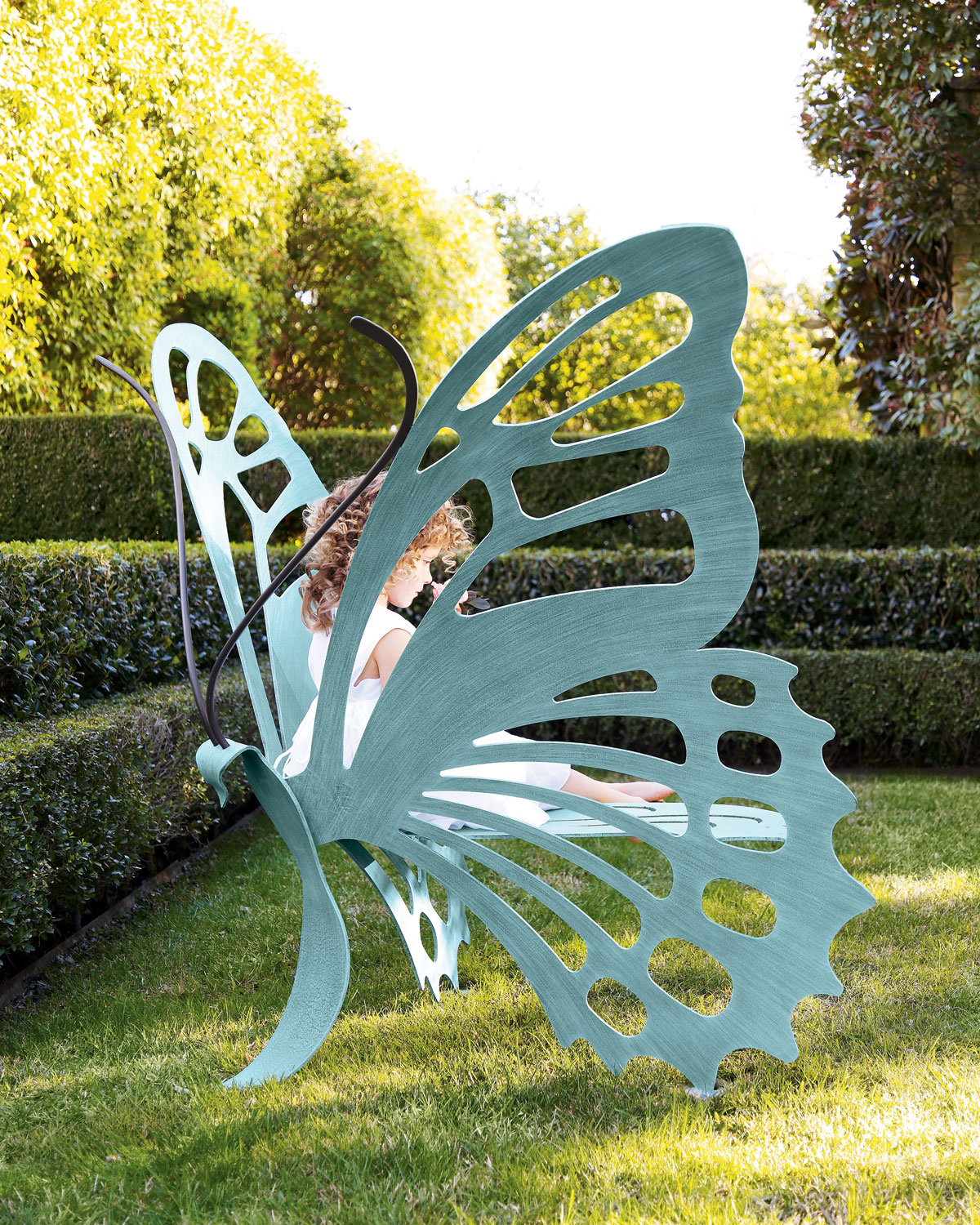 Large Butterfly Bench - Neiman Marcus
