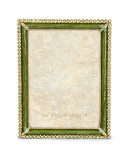 "Jay Strongwater ""Lucas"" Stone-Edge Frame"