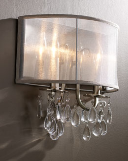 Shaded Chandelier Sconce