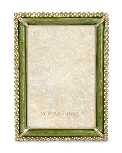 "Jay Strongwater ""Lorraine"" Stone-Edge Frame"