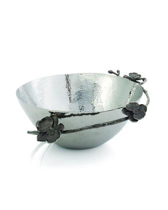 Medium Black Orchid Bowl