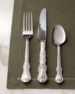 "Gittleman Global 90-Piece ""Margaux"" Flatware Service"
