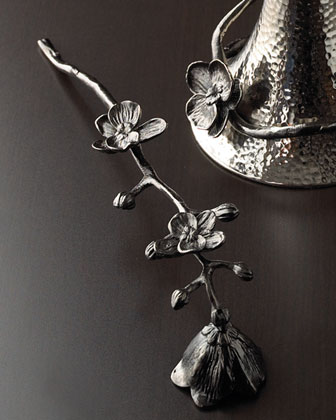 Black Orchid Candle Snuffer