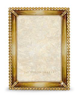 "Jay Strongwater ""Lorraine"" Frame, 4"" x 6"""