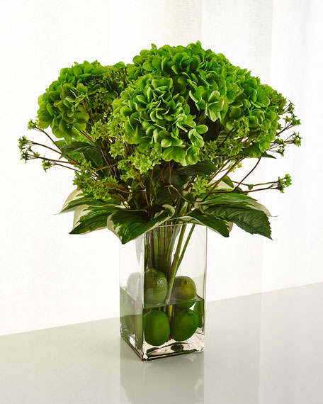 Classic Greens Faux Floral