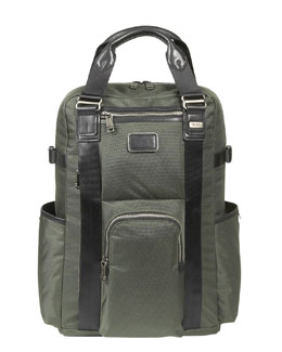 """Alpha Bravo"" Backpack Tote"