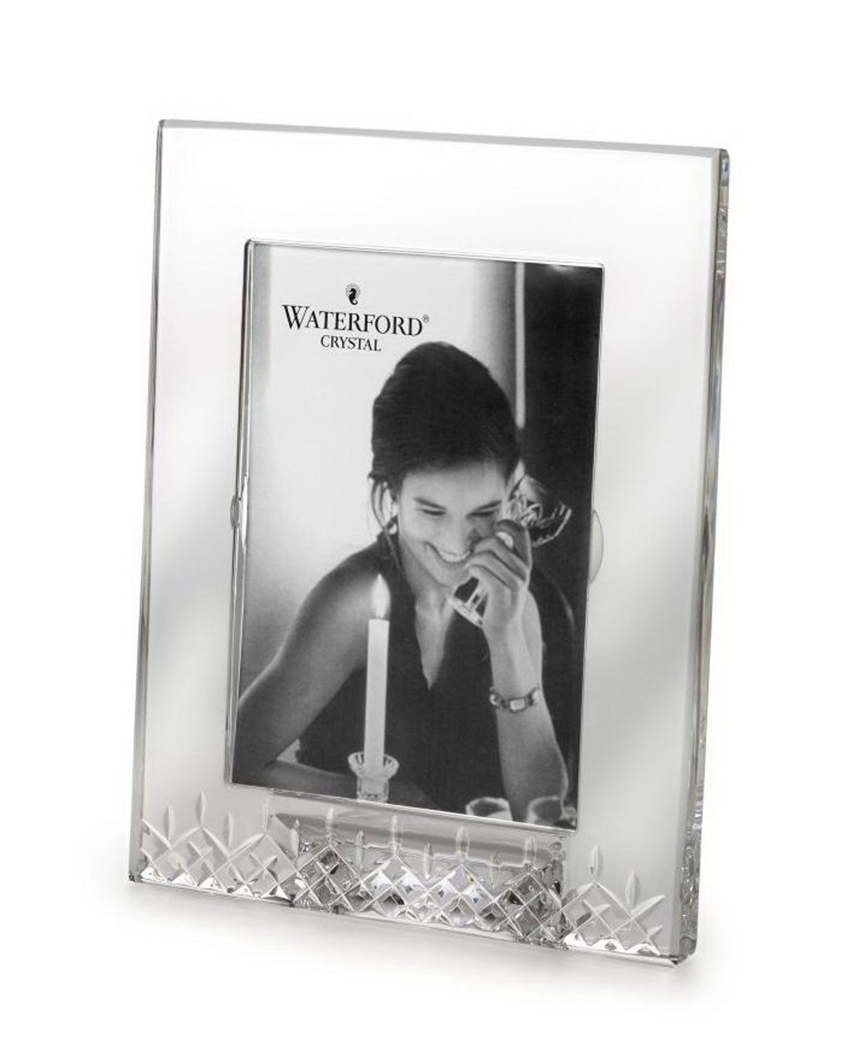 Crystal photo frame neiman marcus quick look waterford crystal lismore essence frame jeuxipadfo Gallery