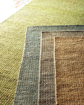 Earth Tones Braided Flatweave Rug