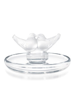 "Lalique ""Lovebirds"" Pintray"