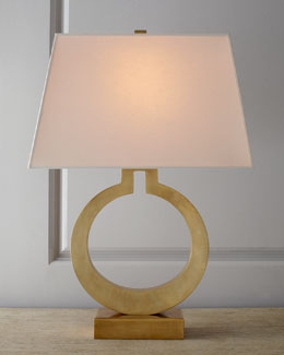 VISUAL COMFORT Brass Ring Lamp