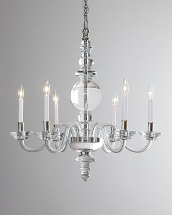 George II Polished-Silver Lighting