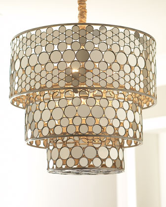 Three-Tiered Five-Light Pendant