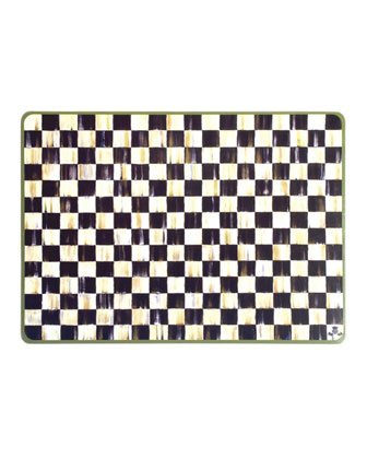 Courtly Check Placemats & Coasters