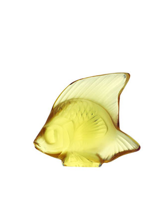 Golden Angelfish Figurine