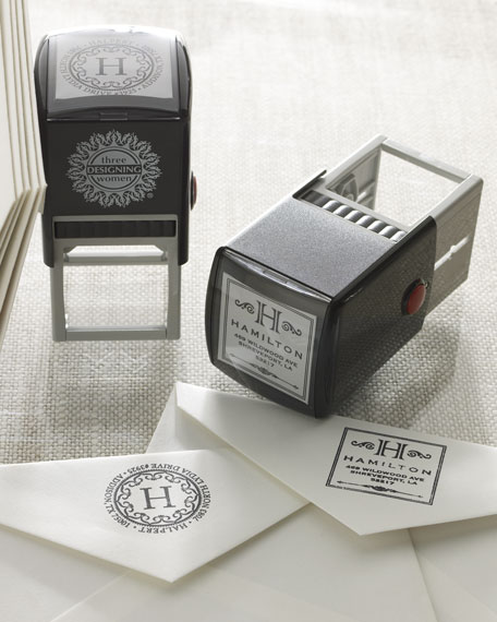 Personalized Address Stamper