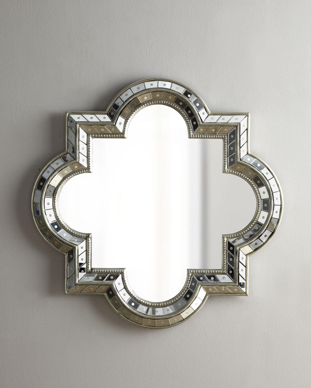 Quatrefoil Mirror - Neiman Marcus