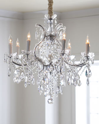 Crystal Drop Chandeliers
