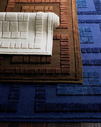 Bergamo Blocks Rug, 4'6