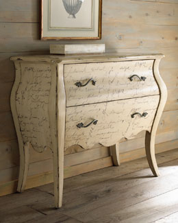 """""""Calligraphy"""" Chest"""