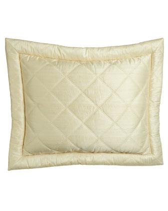 Big Diamond Silk Coverlets & Shams