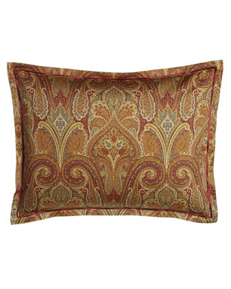 Cashmere Ruby Paisley Bedding