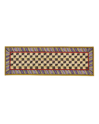 Courtly Check Rug