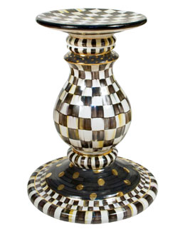MacKenzie-Childs Courtly Check Pedestal Table Base
