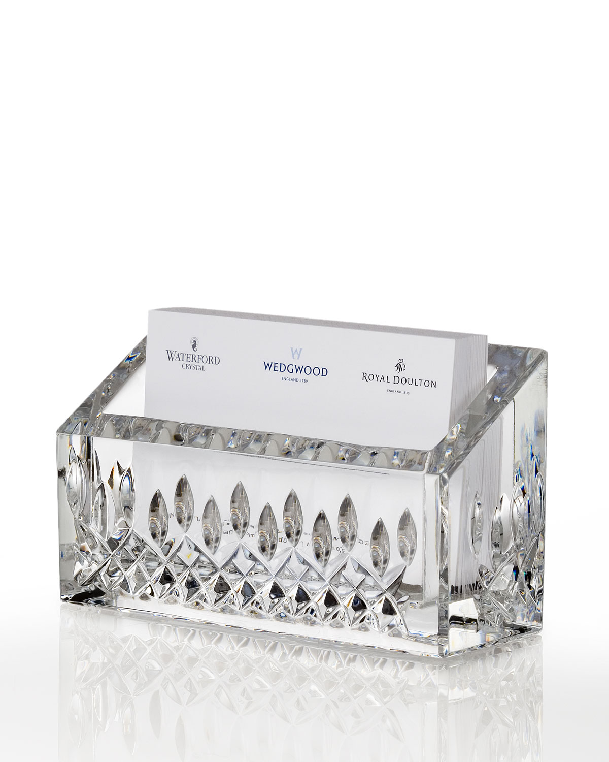 Waterford Crystal Lismore Business Card Holder | Neiman Marcus