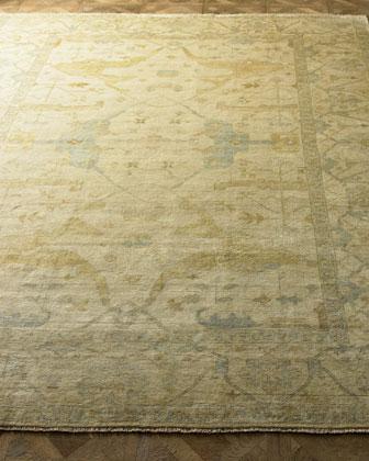 Meadow Oushak Rug, 9' x 12'
