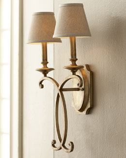 "John-Richard Collection ""Rustic Bronze"" Sconce"