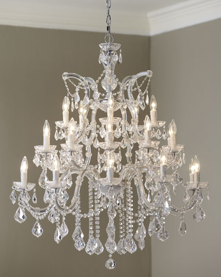Maria Theresa Large Chandeliers & Matching Items