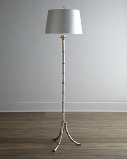 "John-Richard Collection Petite ""Bamboo"" Floor Lamp"