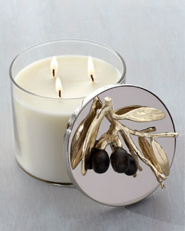 "Michael Aram ""Olive Branch"" Candle"